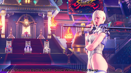 Falke - Shadaloo Battle Outfit - C3 Slot Swap by addysun