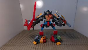 Slash and Crash Mech [NEXO KNIGHTS MOC] by sideshowOfMadness
