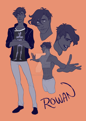 Rowan | the Peacekeeper by killamonstar