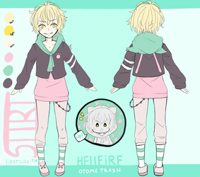 [HELLFIRE] Sitri [Character Ref Sheet] UPDATED by lost-lillith