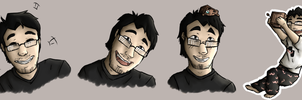 Markiplier practice by Evertooth