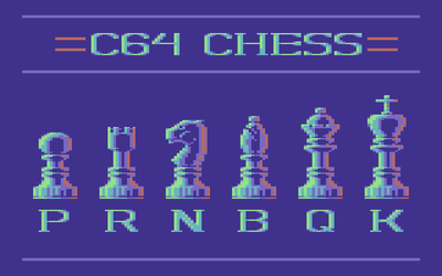 C64 Chess by zeroandnull