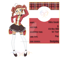 Willow Girls School Application {Chika Sasaki} by TheCherryMonsterLu
