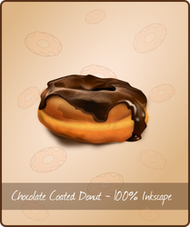 Chocolate Donut by Golden-Ribbon