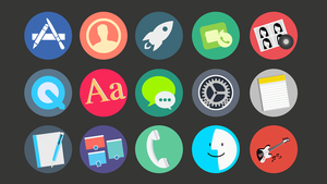 Flat Icons by janosch500