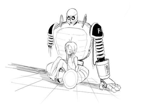 Comfort, from dad robot guy by Nayolfa