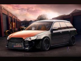 Subaru Legasy Import by evisdesign