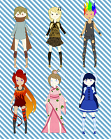 Mixed Adoptable Batch 1 by Simple-Adopts