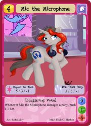 Mic the Microphone by MLPMinis
