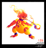 Magmar!  Pokemon One a Day!