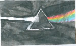 Water Colour: Dark Side of the Moon by fanis01