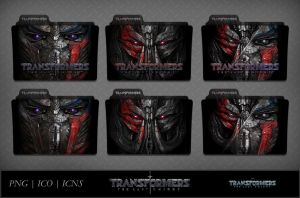 Transformers - The Last Knight (2017) Icon Pack v1 by DhrisJ