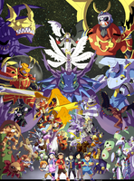 Digimon Frontier by takugirl