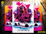 Work Bitch Flyer Template Psd by Industrykidz