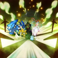 Team Martian Manhunter's Pokemon