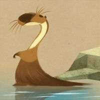 Otter by Canvascope