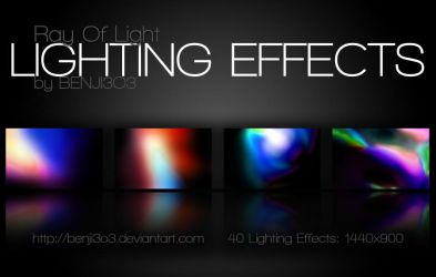 Lighting Effects- Ray Of Light by Benji3O3