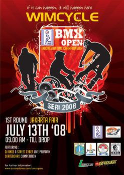 Wimcycle:BMX Open Series 2008 by xmasada