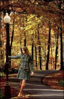 Autumn walking by Aleksie