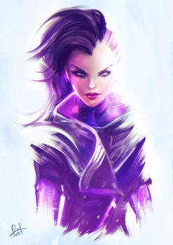 Daily Practice - Sombra Squetch by Nixri