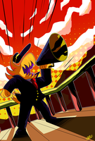 A HAT IN TIME - The Conductor by EyeOfSemicolon