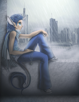 The City by dream-whizper
