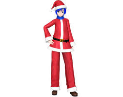 Project Diva Arcade Future Tone Christmas Kaito by WeFede