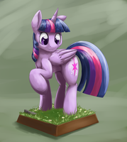 Miniature Pony by otakuap