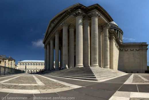 Pantheon in Paris, France by lateonomen