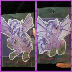 Con Badge Commission: Amethyst Shade by 0PinkPepper0
