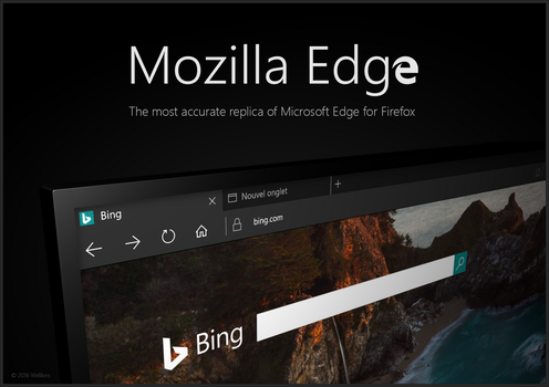 MOZILLA EDGE for Firefox by Wellkins