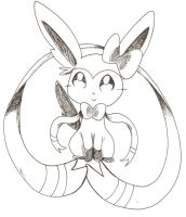 Sylveon the incubator by Nid15