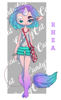 RHEA by CandyCatAdopts