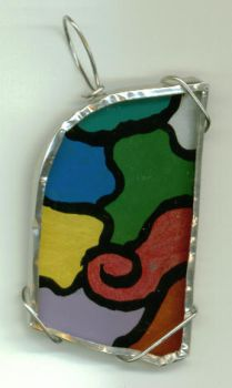 Glass Pendant by wiyaneth