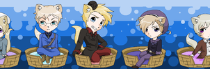 Hetalia Kitties 8 by pinkkittypower