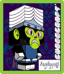 Mojo Jojo Cubeecraft by angelyques