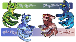 Fumepuppys [Open LOWERED PRICES!] by llEttell