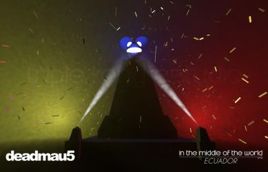 deadmau5 in the middle of the world by Nhemz-Iza