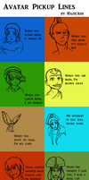 Avatar Pick Up Lines by HazieAsh