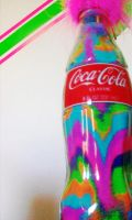 Rainbow Coke by jenleighphotography