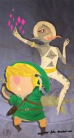 Jeepers Creepers - Skyward Sword by Paper-Plate