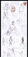 Sketches Madness by sipries