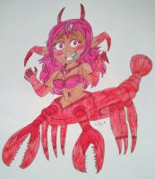 Giga Lobster by Claire-Petal-Splash
