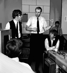 Portrait: George Martin, Beatle Teacher by SynCallio