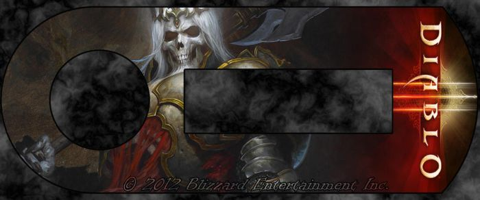 Blizzard Authenticator - Skeleton King by masterxodin