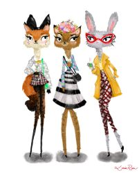 Fashionistas by Louise-Rosa