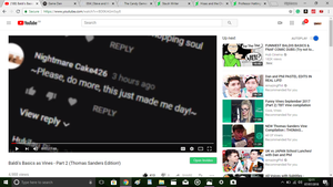 YouTube- LOOK WHO'S FINALLY BEEN NOTICED!!! by Nightmarecake4268