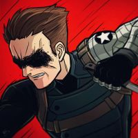 War-face Wednesday: Winter Soldier by AndrewKwan