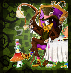Mad as a Hatter by Funkykitsune
