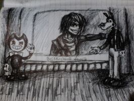 Gospel Of Dismay (made with pen) by Miu-Chan16